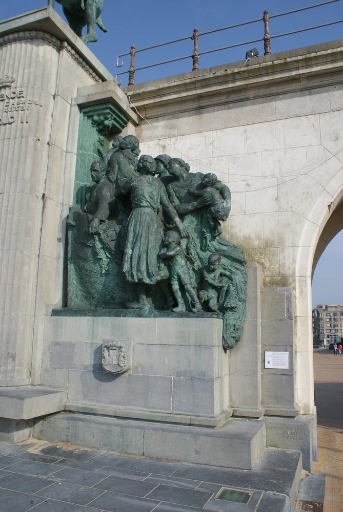 Leopold II door Stoeten Ostendenoare op zijn plaats gezet