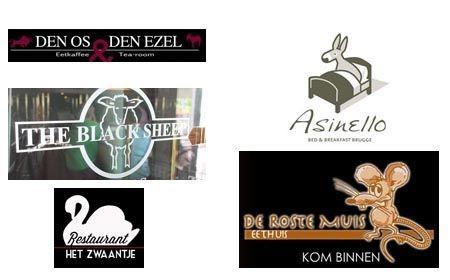 DE LIJSTTREKKER (5) : Logische logo's van beestige bedrijven