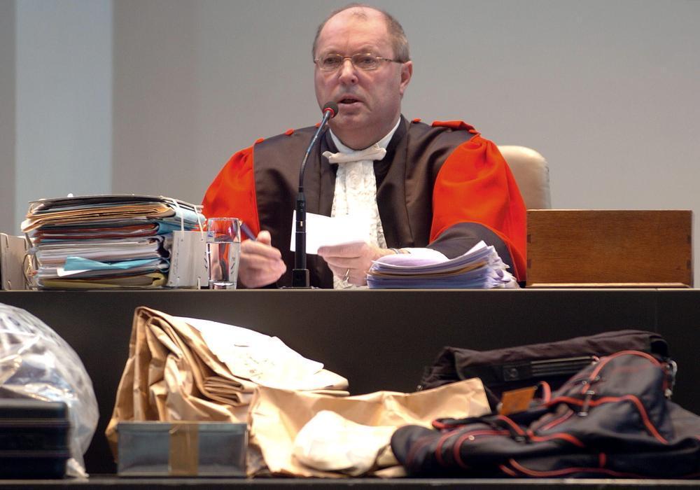 Voorzitter Boudewijn Desmet.