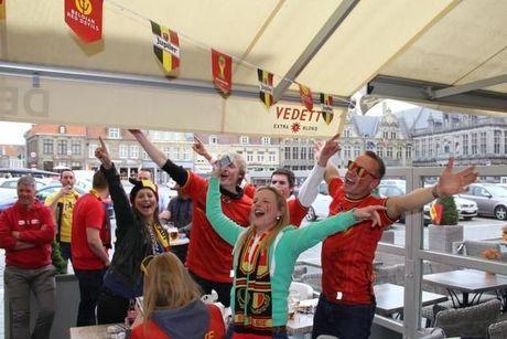 2-1 voor België op WK zorgt ook in Veurne voor feestvreugde