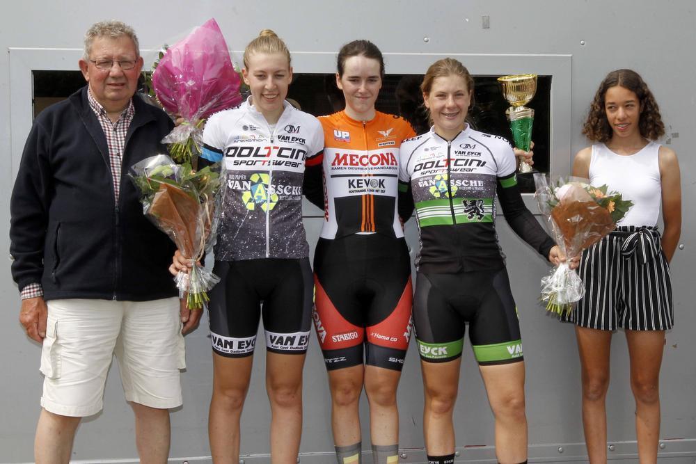 Izegemse Marith Vanhove is de snelste in Zedelgem
