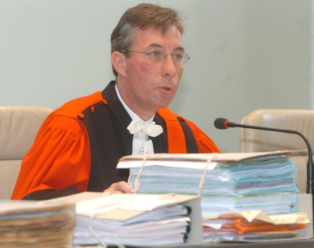 Assisenvoorzitter Dirk Van der Kelen.