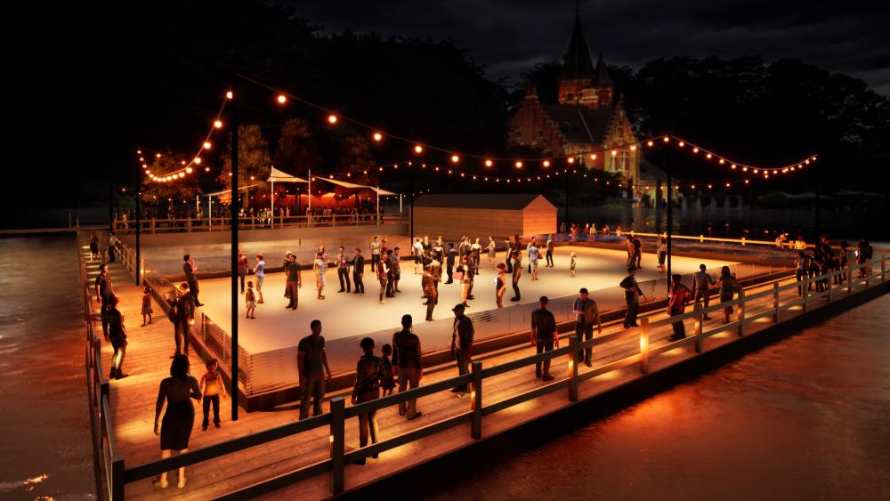 Brugge krijgt lichtfestival in kerstperiode