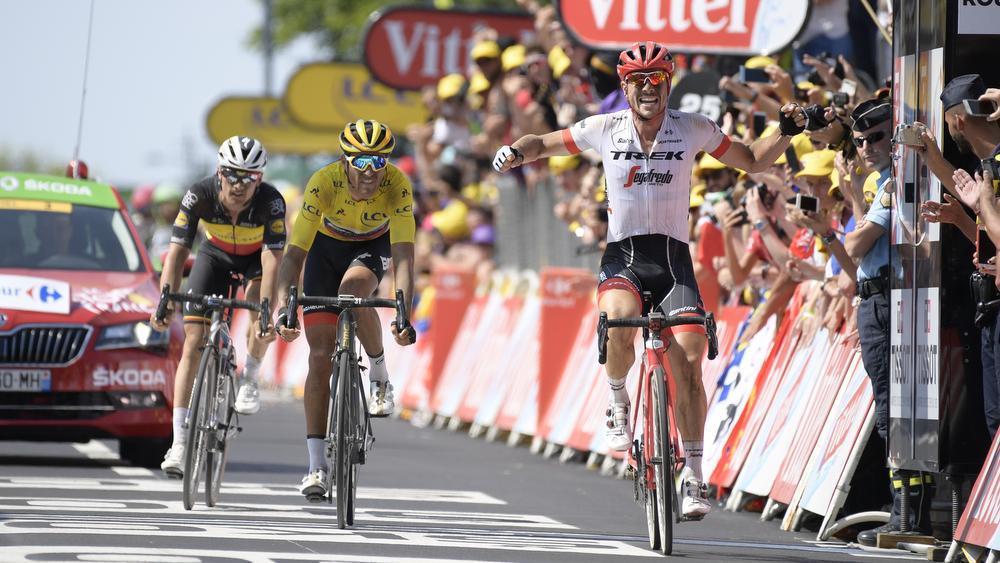 Degenkolb klopt Van Avermaet en Lampaert in Roubaix
