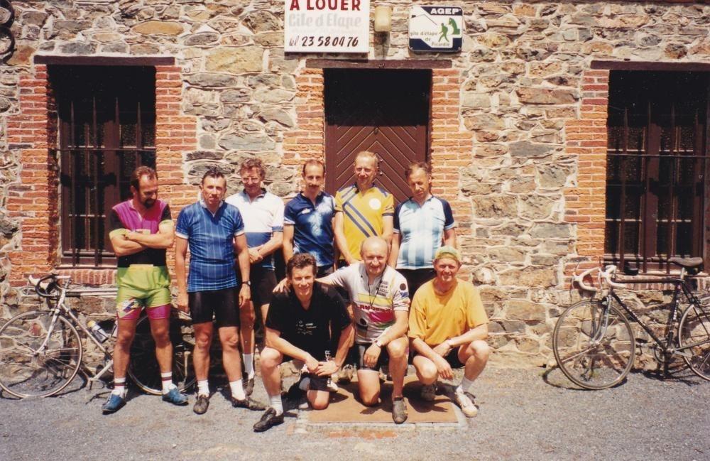 De groep verbleef tijdens de paasvakantie van 1992 in een gîte van Saint-Michel-en-Thiérache.