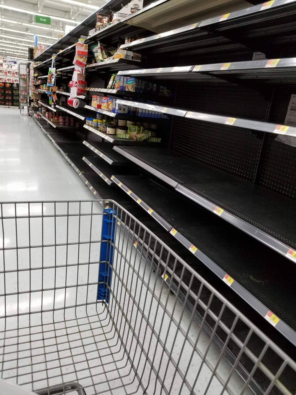 Lege winkelrekken in Florida