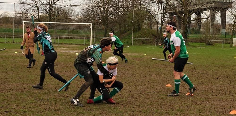 Keiharde tackles, knuffels en genderregels: dit was de Belgian Quidditch Cup 2019