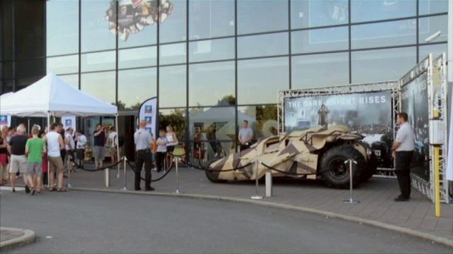 Batmanfilm en bolide kan op veel belangstelling rekenen in Brugge