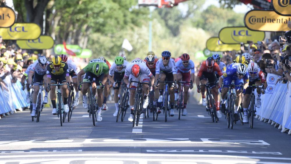 Tweede ritzege op rij voor Deceuninck - Quick-Step in de Ronde van Frankrijk