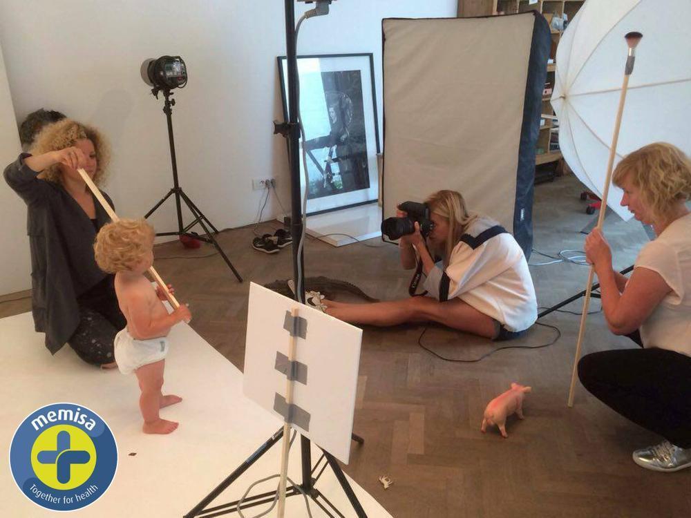 Peuter Marielou uit Roeselare is het gezicht van nationale campagne van Memisa