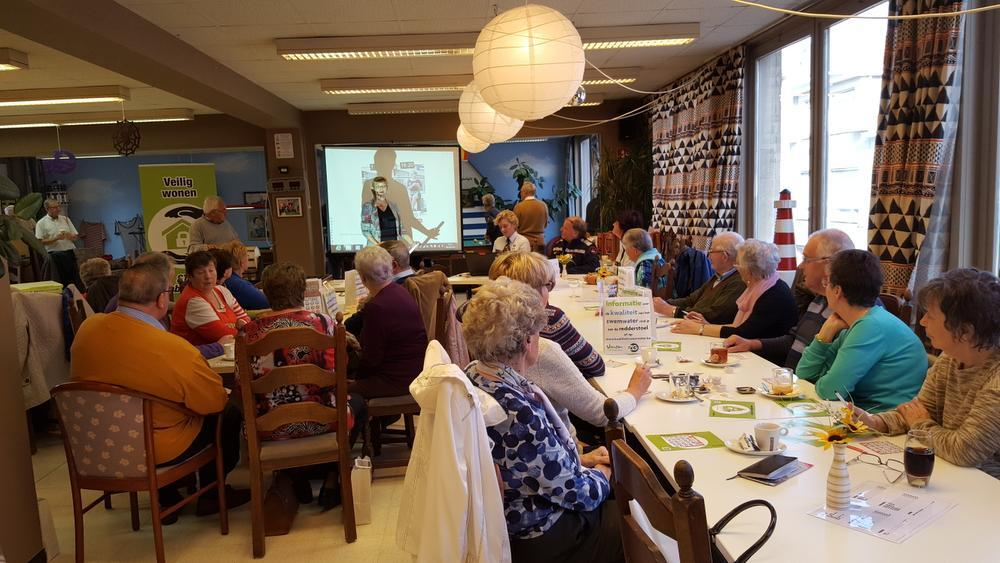 Senioren in Knokke-Heist spelen bingo... om veiligheidsgevoel te verhogen
