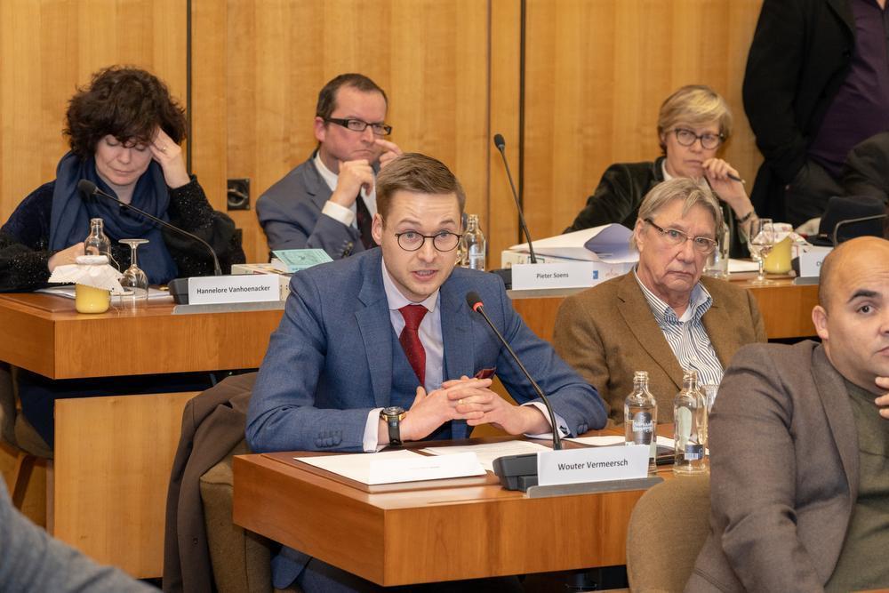 Wouter Vermeersch trekt in mei de federale lijst. (Foto Kurt De Schuytener)