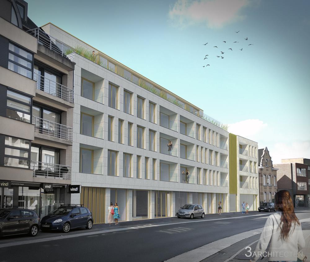 De Sint-Michielsstraat bij het stadscentrum wordt een moderne en mooie stadstoegang. (gf)