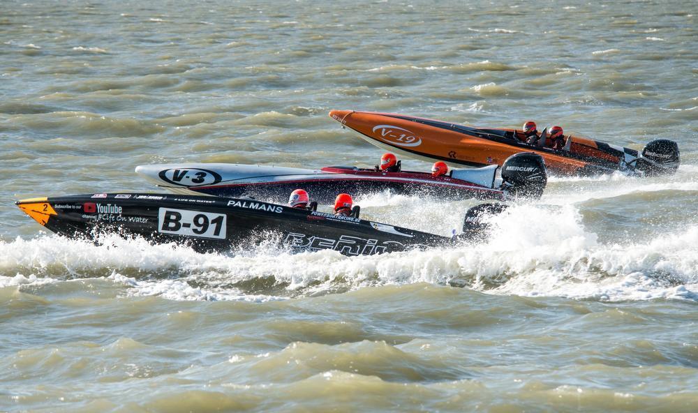 Finale Belgisch Kampioenschap Offshore in Blankenberge