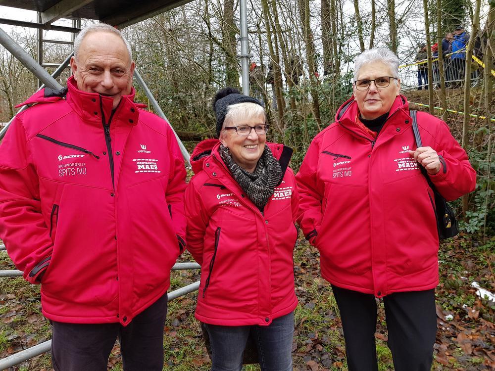 Staf, Yvette en Jeannine uit Leuven.
