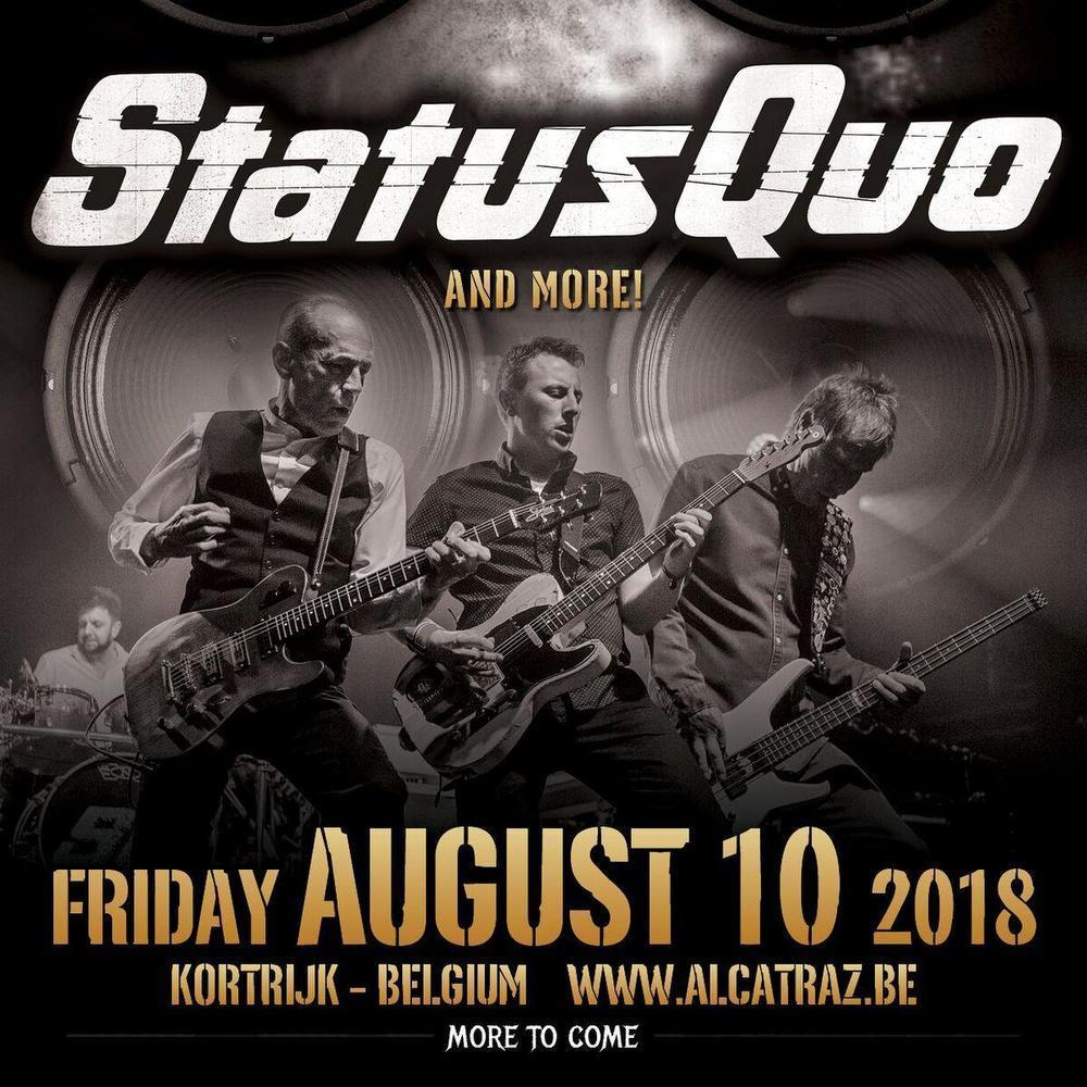 Alcatraz Hard Rock & Metal Festival strikt legendarische rockband Status Quo