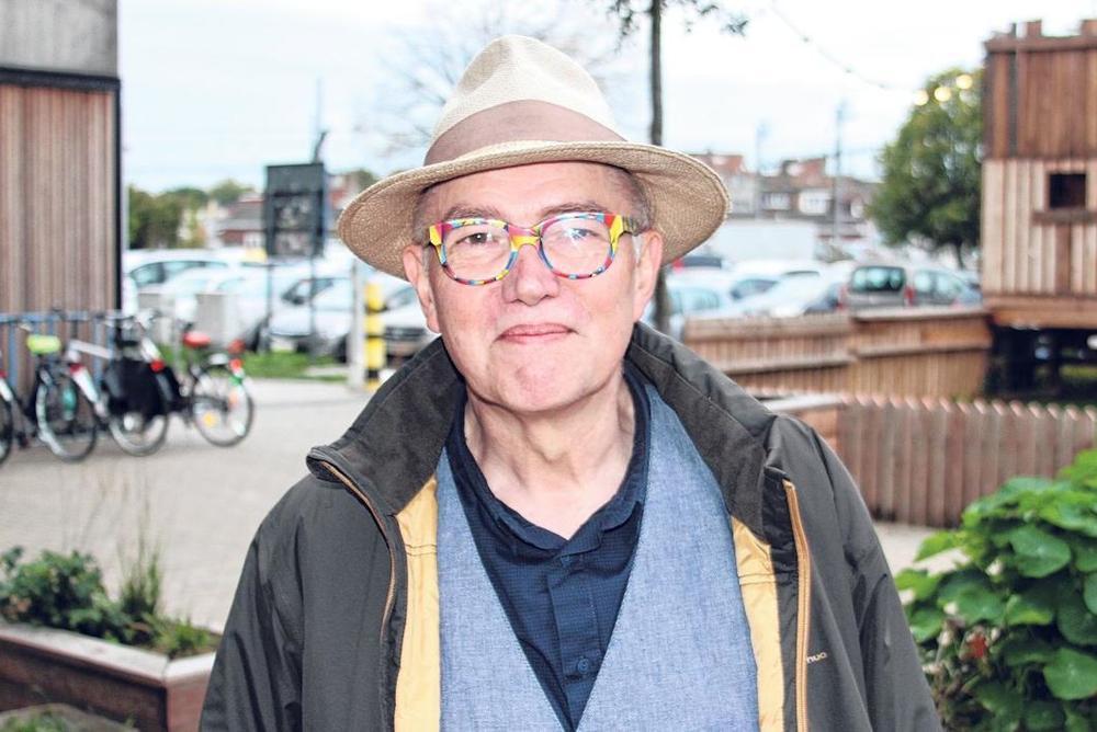 Bart Caron, de voorzitter van kunstencentrum Kaap.