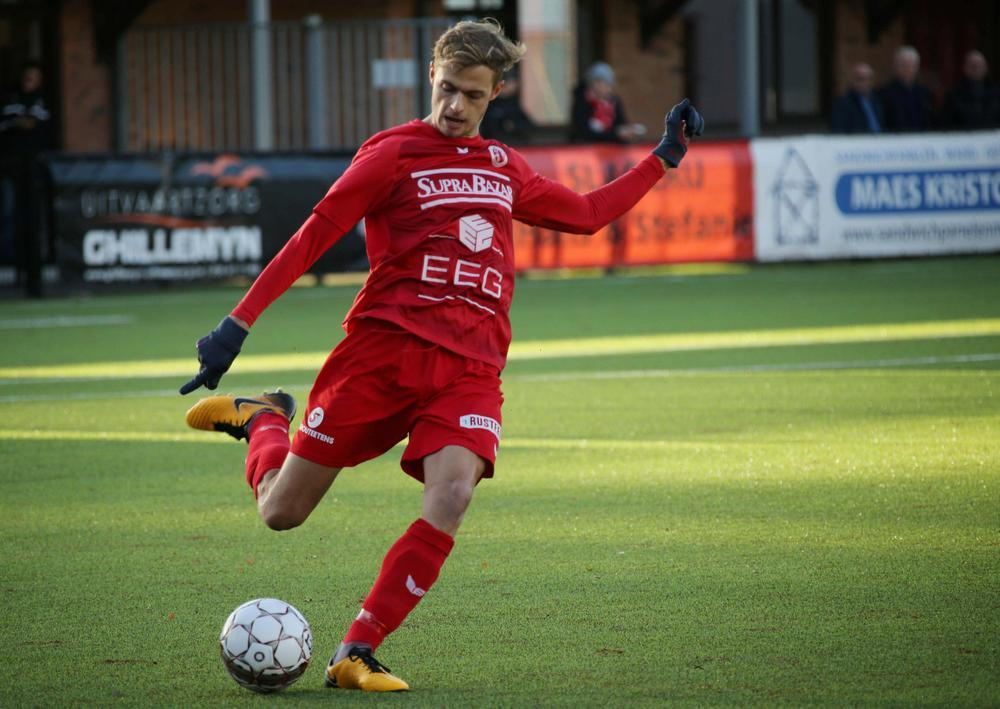 Indy Vancraeyveldt begint straks aan zijn derde seizoen bij FC Gullegem.