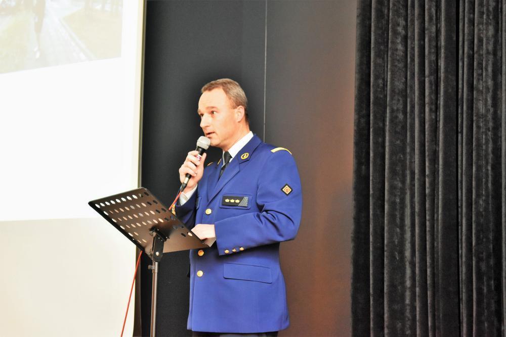 Korpschef Jean-Louis Dalle