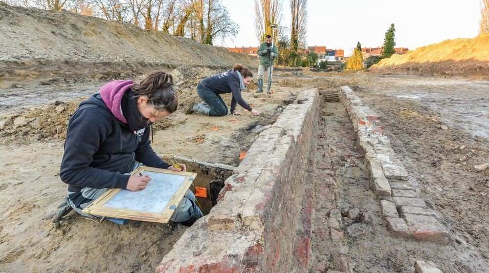 Oudste sporen archeologisch onderzoek in Wervik komen uit de Romeinse periode