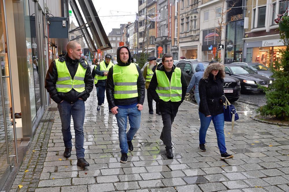 Roeselaarse 'Gele Hesjes-actie' in mineur