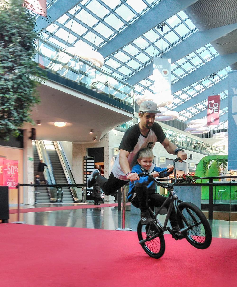 Belgisch kampioen BMX Barre Neyrinck in K in Kortrijk