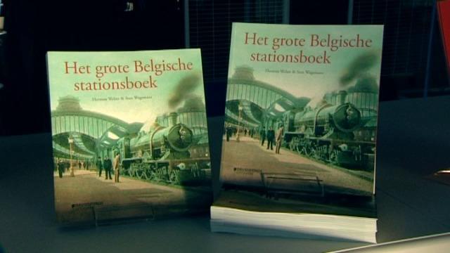 Boek en expo over Belgische stations in Oostende en Brugge