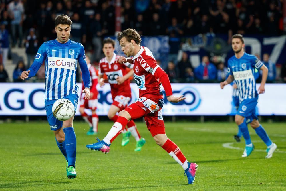 KV Kortrijk verliest strijd om eerste plaats in play-off 2 tegen Genk