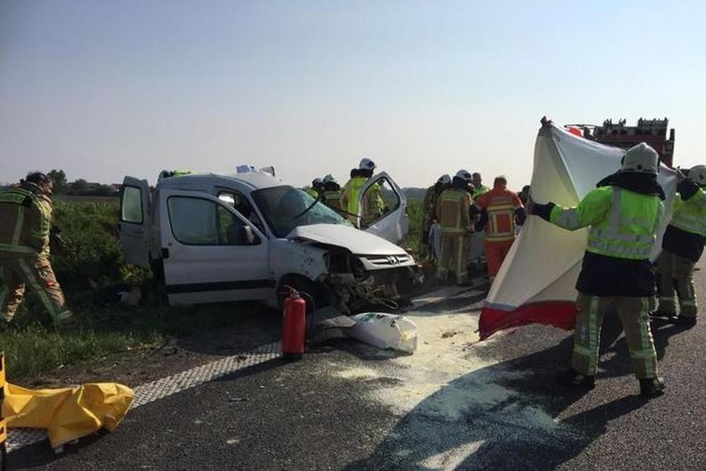 Jonas Waroux na zwaar ongeval: