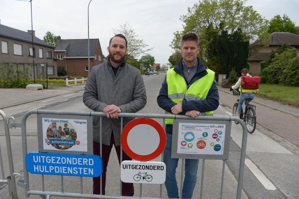 Directeur Maxim Esprit (links) en Johan Demyttenaere. (foto Frank)