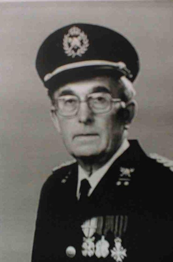 Ere-brandweerbevelhebber Gerard Van Steertegem uit Oostduinkerke overleden