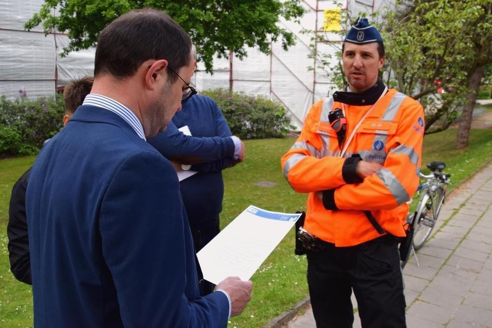Controleacties op gebruik van aanhangwagens in Kortrijk