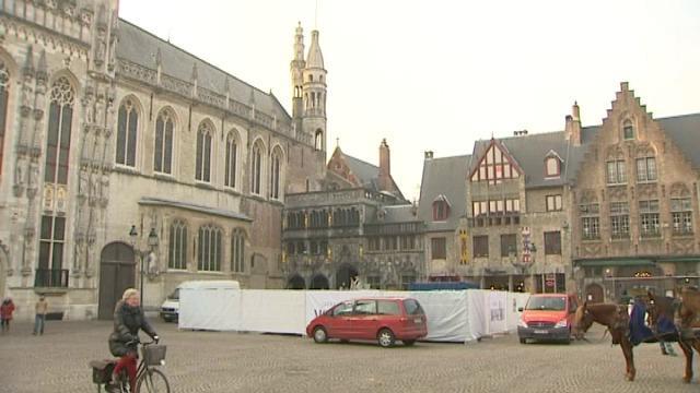 Basiliek van het Heilig Bloed in Brugge wordt gerestaureerd