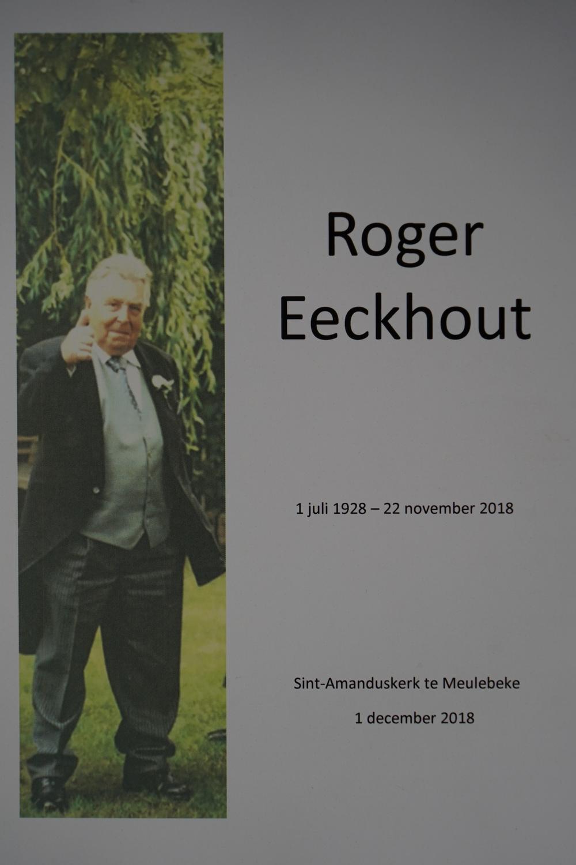 Volle kerk in Meulebeke voor de uitvaartdienst van Roger Eeckhout
