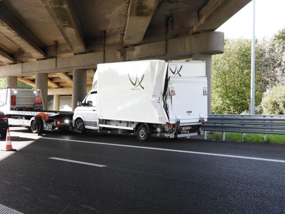 Viktor Verhulst betrokken in spectaculair ongeval in Jabbeke: