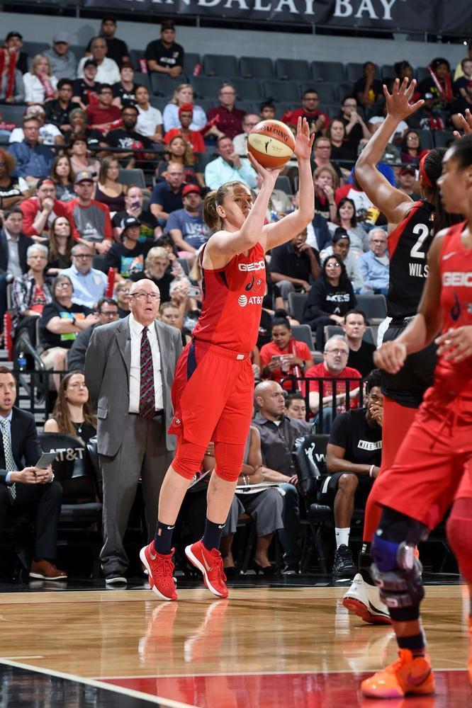 Emma Meesseman was goed voor 22 punten in de vierde wedstrijd.
