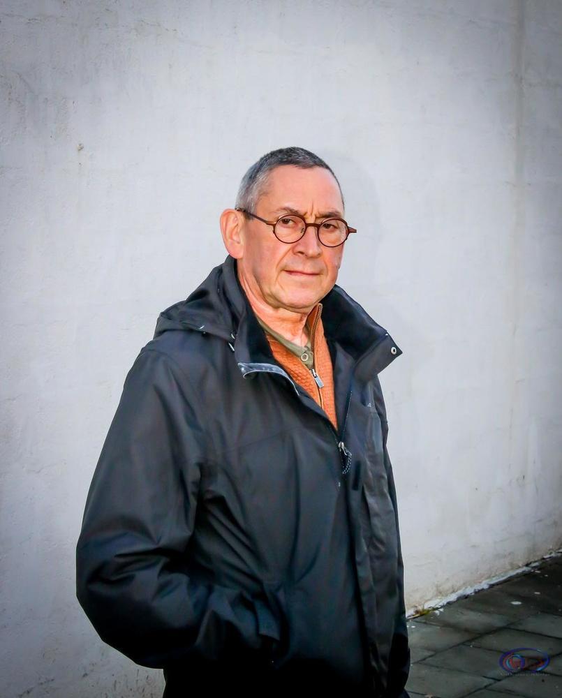 Kunstenaar Dirk Steppe.