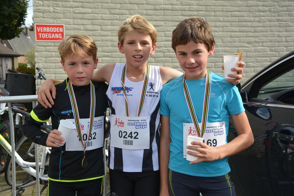 Winst voor Mathias Hoornaert en Valerie Van Den Berghe in Sterrebosloop