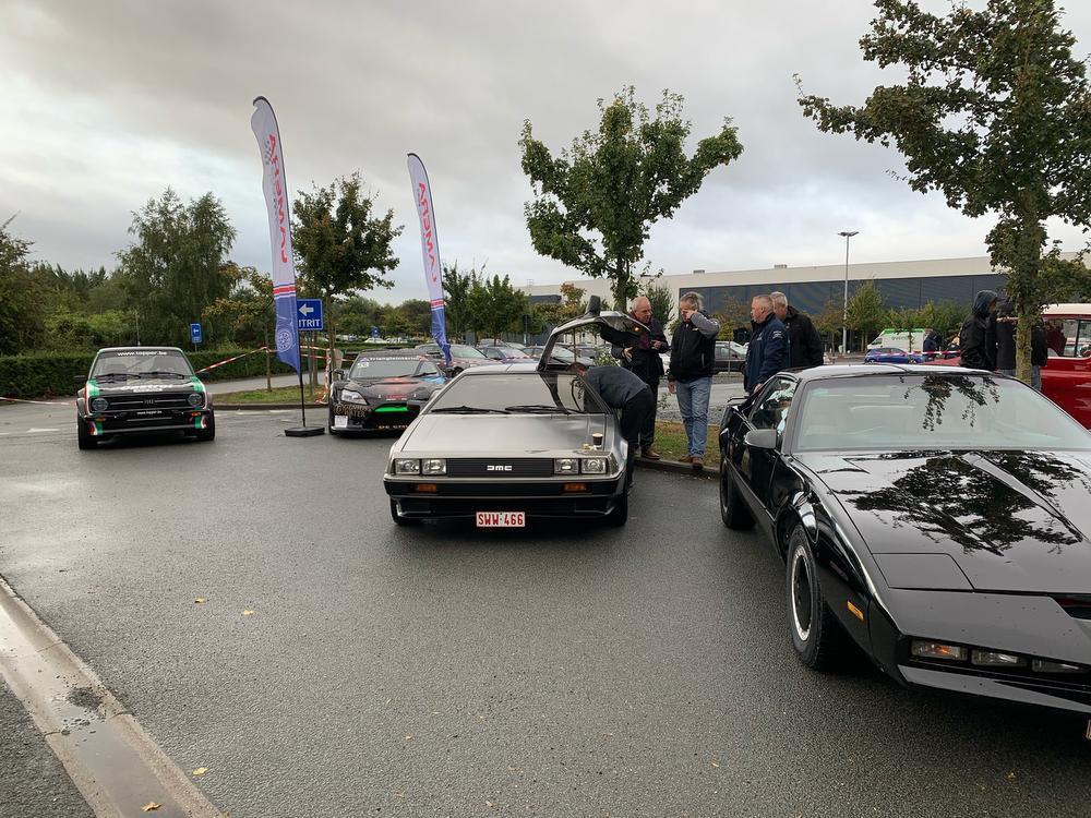 200 powercars in Brugge
