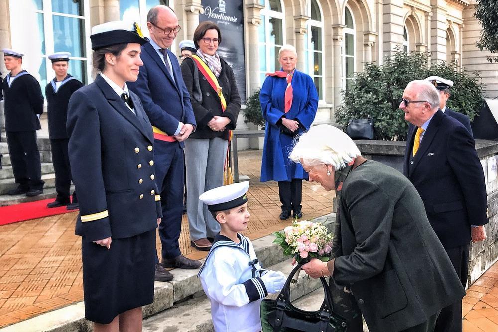IN BEELD Koning Albert en koningin Paola bezoeken Oostende
