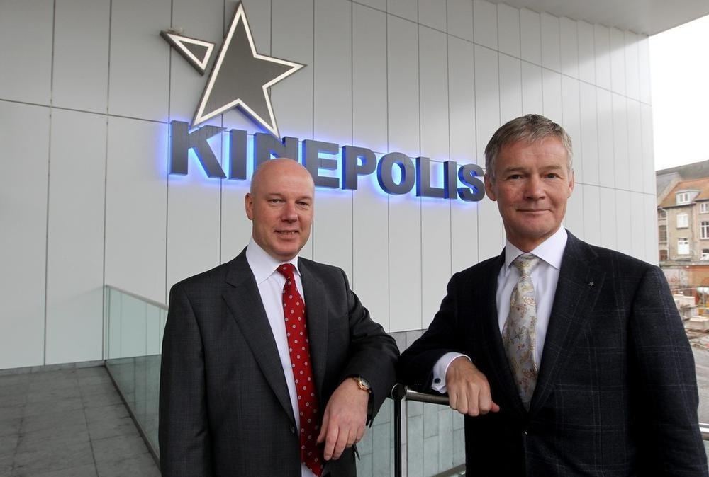 Eddy Duquenne (links) volgde in 2018 Joost Bert op als CEO van Kinepolis.