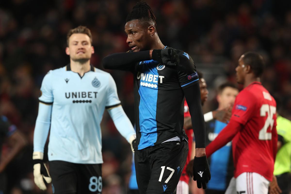 Club Brugge al voor de rust volledig uitgeteld op Old Trafford