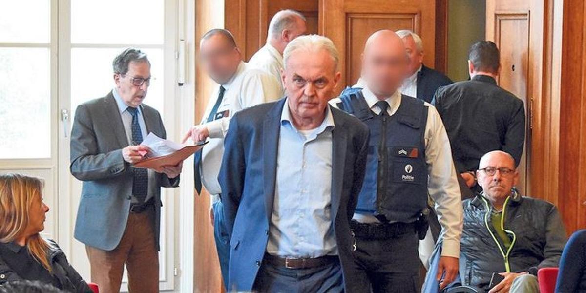 André Gyselbrecht op 6 mei 2019, de slotdag van het proces over de Kasteelmoord.