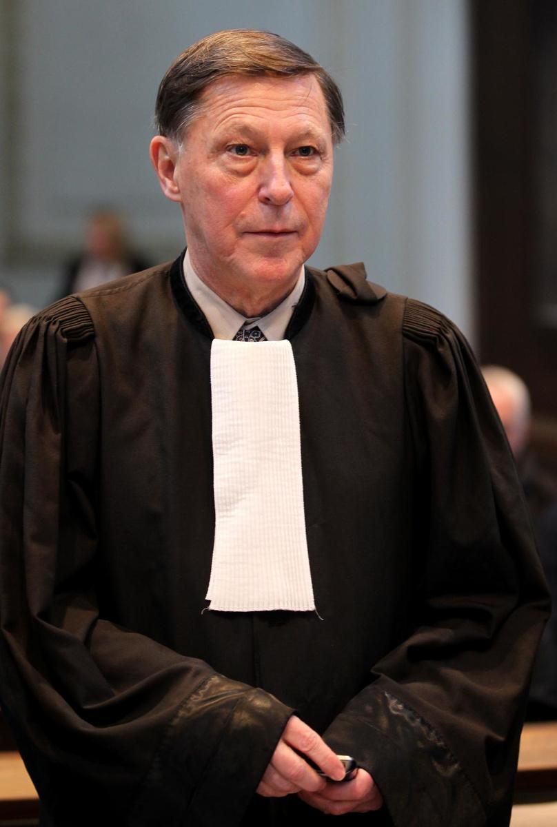 Strafpleiter Jef Vermassen