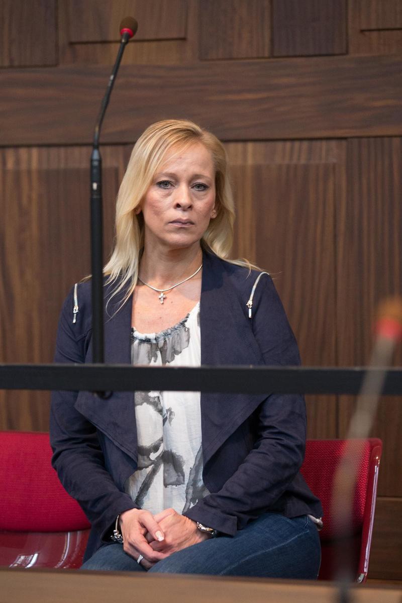 Nathalie Bij de Leij op het assisenproces in 2015. (archief Belga)