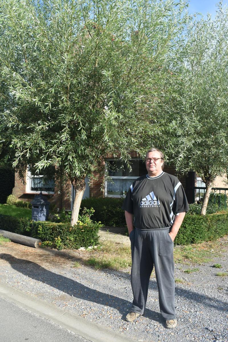 Patrick Toubeau woont nu met zijn partner in het volledig opgeknapte moordhuis. (LK)