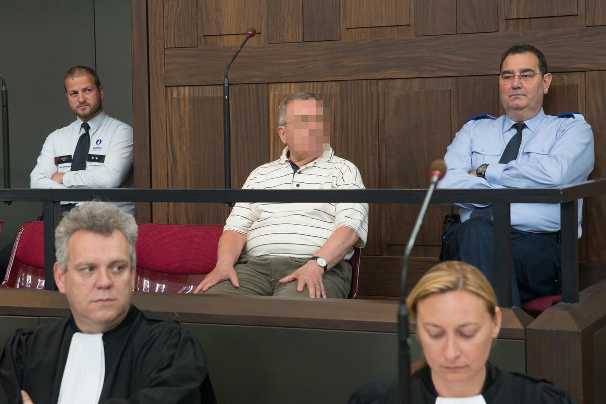 Willem Broos op het assisenproces in 2015. (archief Belga)