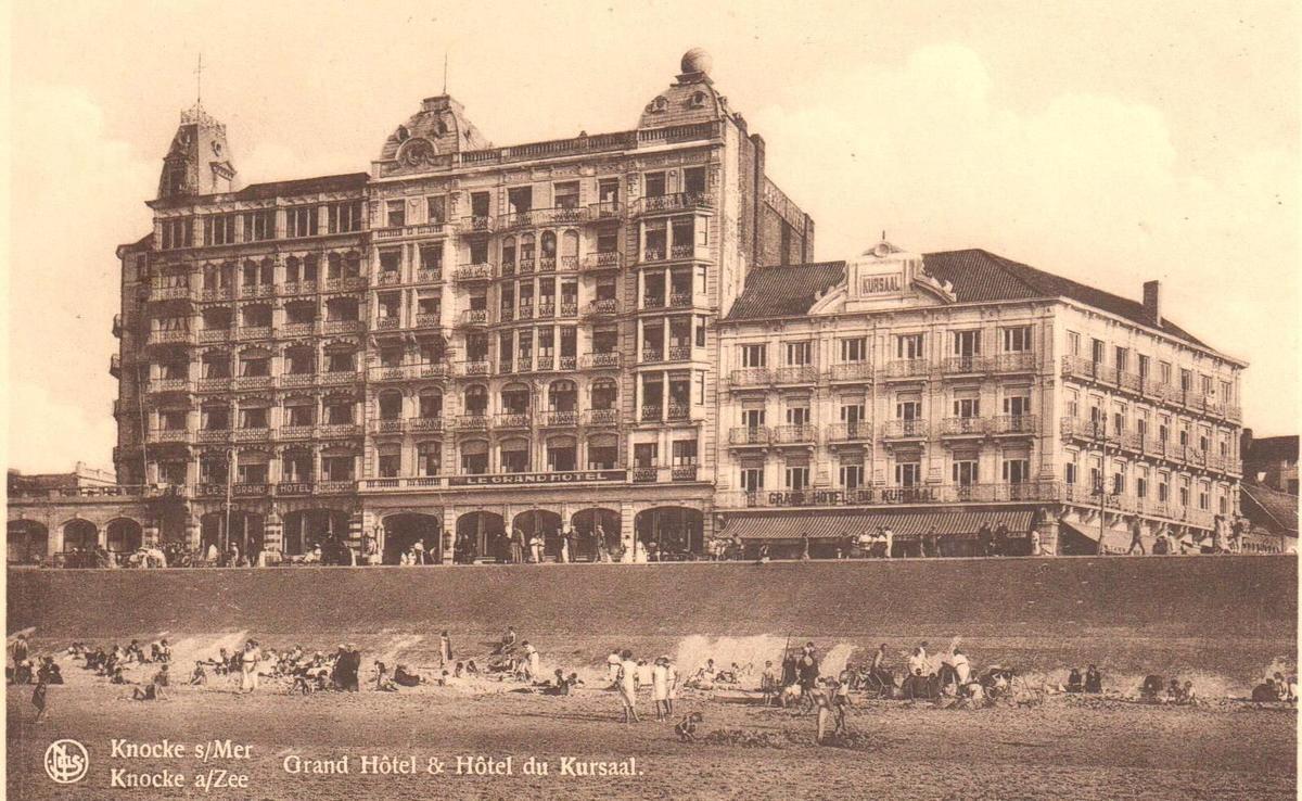 Het Grand Hotel in Knokke was na WO II een eerste vakantieoord voor Joden die de dood in de ogen hadden gekeken. (GF)