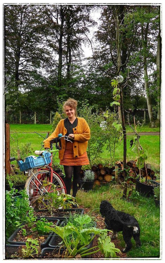 Amarylis De Gryse heeft haar debuutroman klaar. (foto jg)