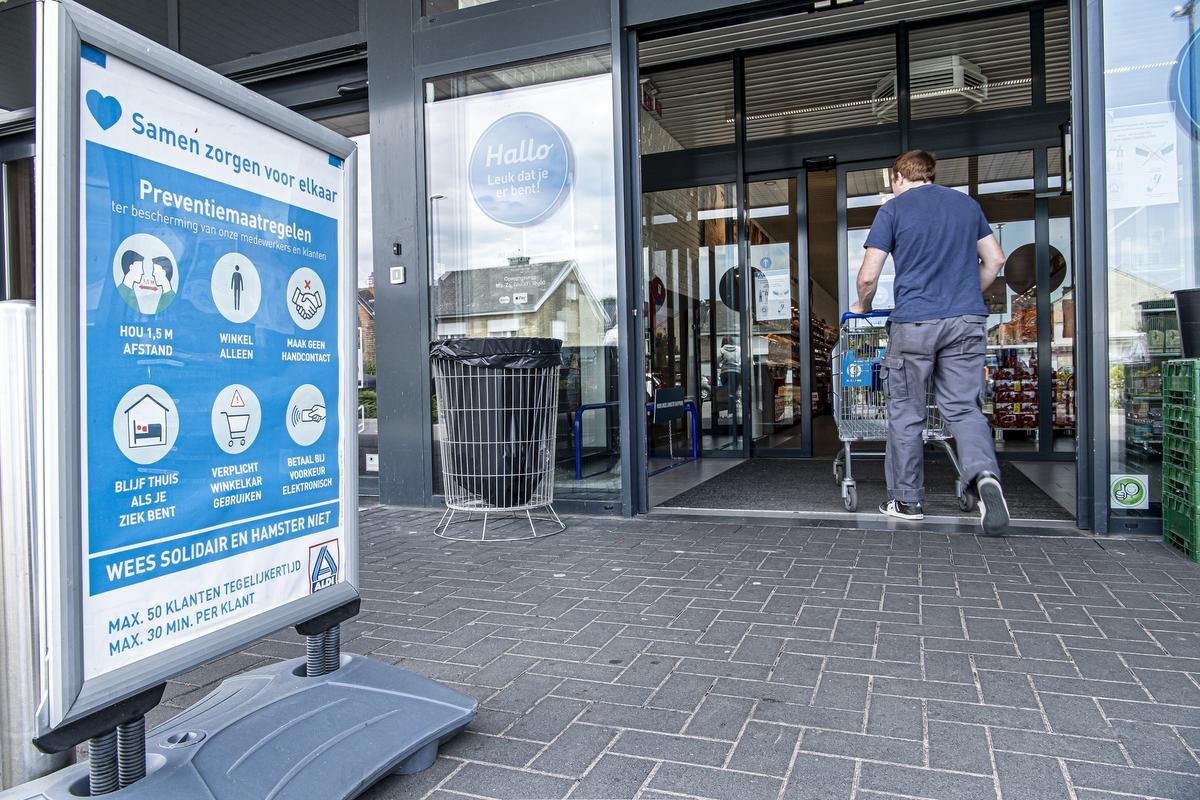 Supermarkten nemen concrete maatregelen in hun filialen zoals Aldi in Roeselare, maar die zorgen almaar vaker voor wrijving.